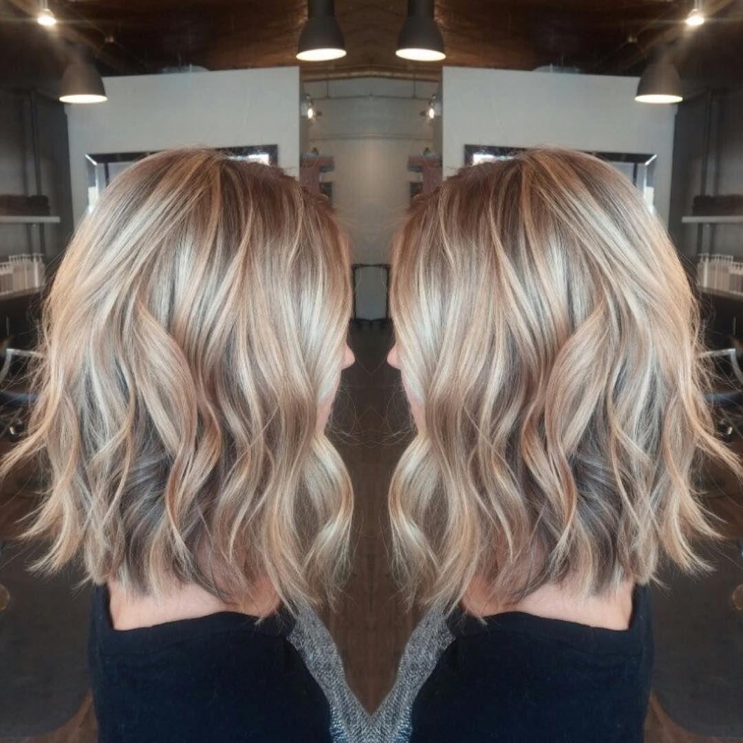 Soft A Line Lob And A Beach Wave Hair Waves Hair Styles Hair Lengths