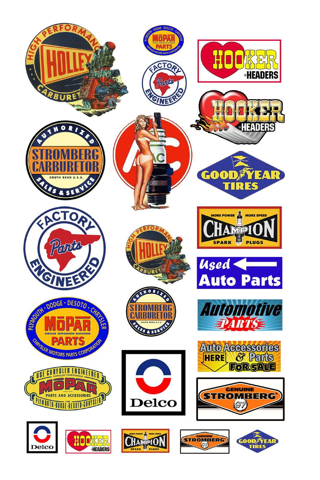 http://www.ebay.com/itm/1-25-G-scale-auto-car-parts-signs ...