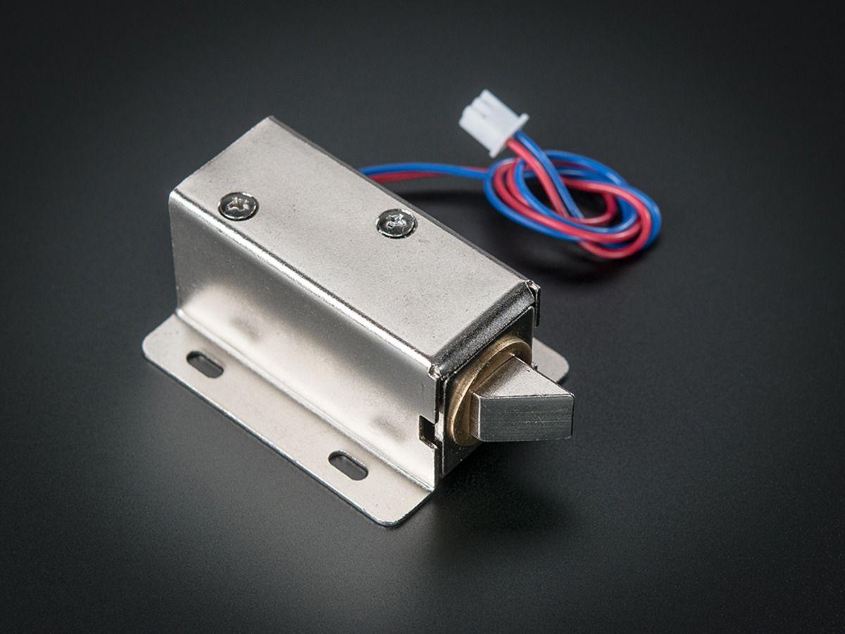 Lock Style Solenoid 12vdc Lock Style Electromagnet Electronic Lock