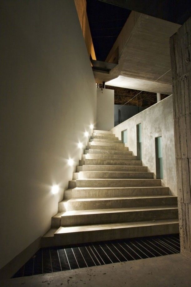 led stairwell lighting. General Ideas: LED Stairs Lighting Inside Your House, Led Stair Lights, Lights Stairwell