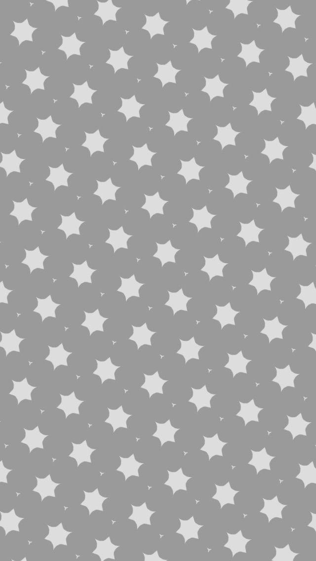 Simple Stars Pattern Illustration iPhone 5 Wallpaper