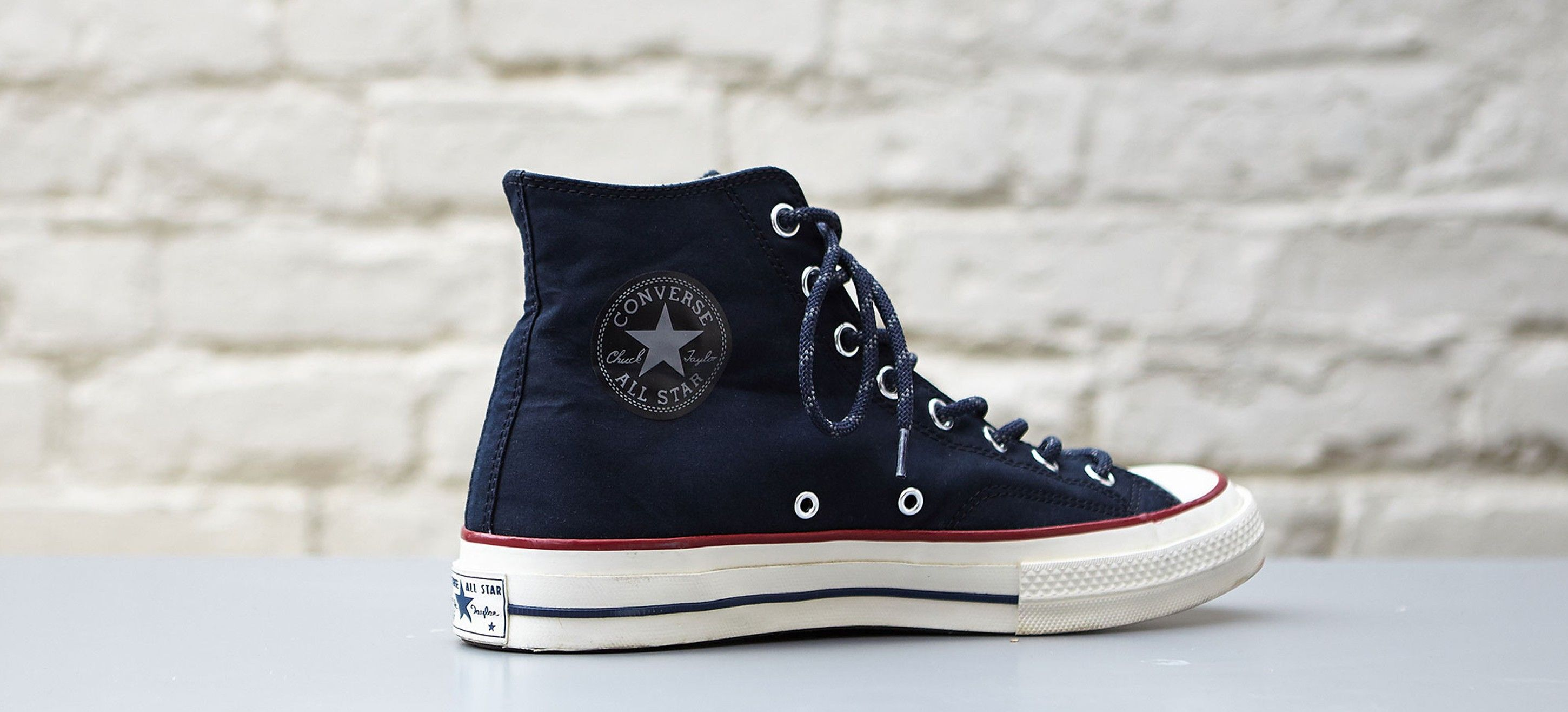 54e53c2dc509 Nigel Cabourn collaboration with Converse. Made with British-made Ventile.  Fantastic.