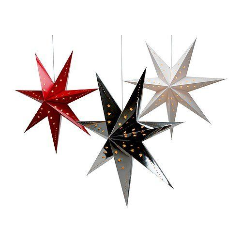 Deck The Halls 7 Affordable Holiday Decorations From Ikea Pendant Lamp Star Pendant Lamp Christmas Decorations