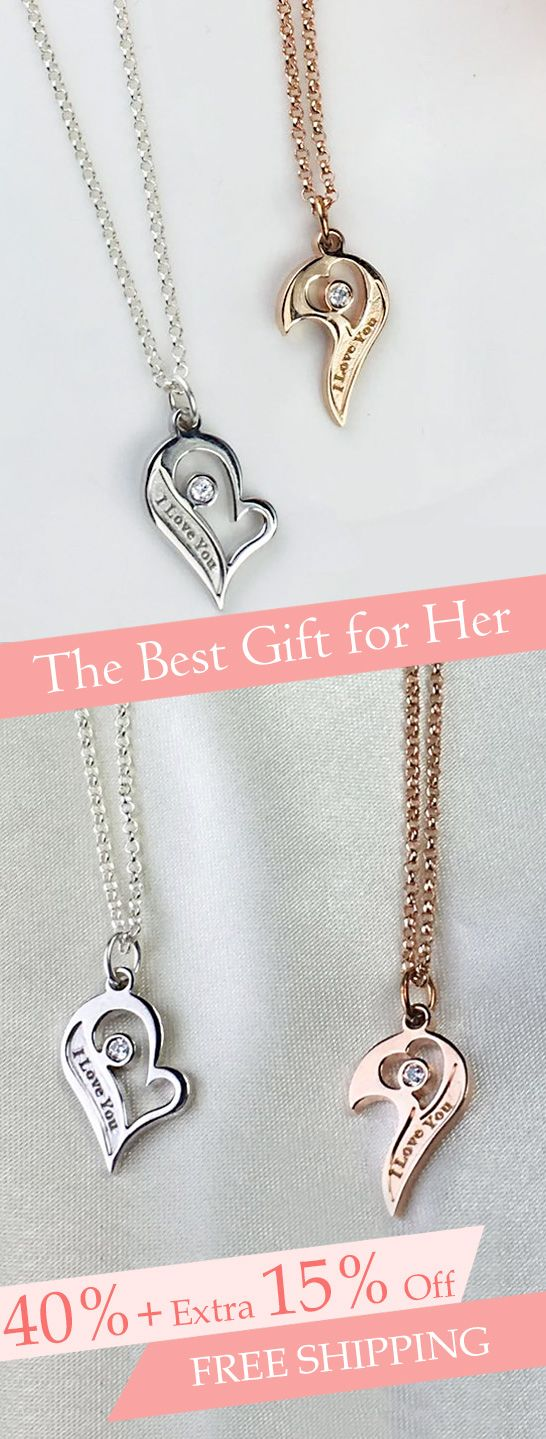 18189c5326 Couple's Breakable Heart Necklace With Birthstones Try to show you love to  her stylize your name and lover's name . Easy to customize online, ...