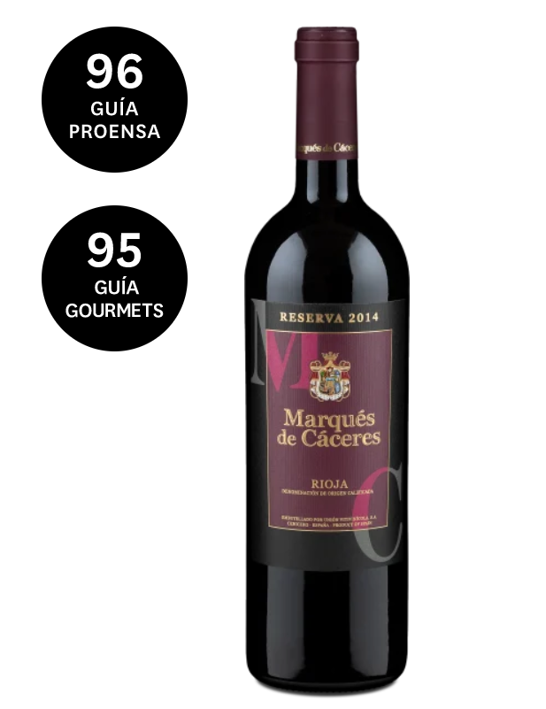 Rioja Reserva 2014 Bodegas Marques De Caceres Alkoholische Getranke Wein Chenin Blanc