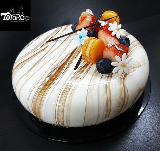 Cake Toppings, Mirror Glaze