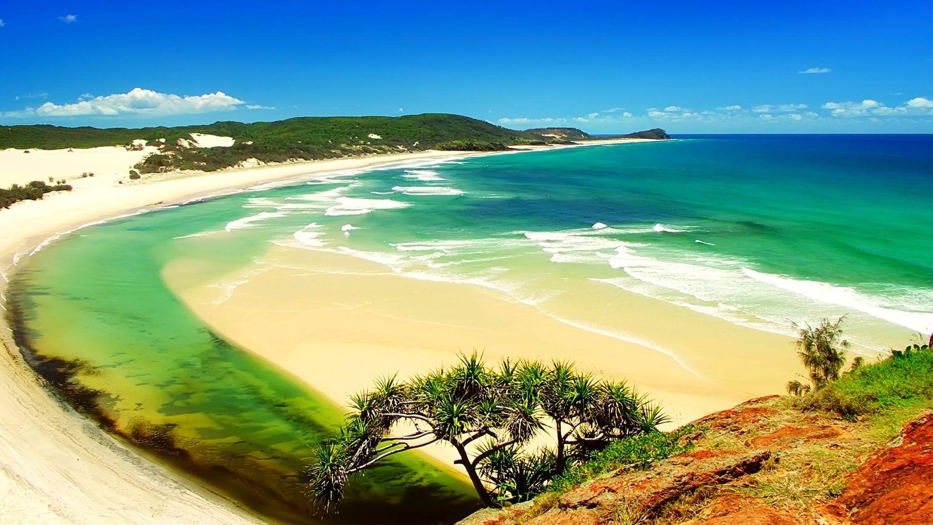 Beach Desktop Wallpaper Widescreen: Summer Pictures For Desktop