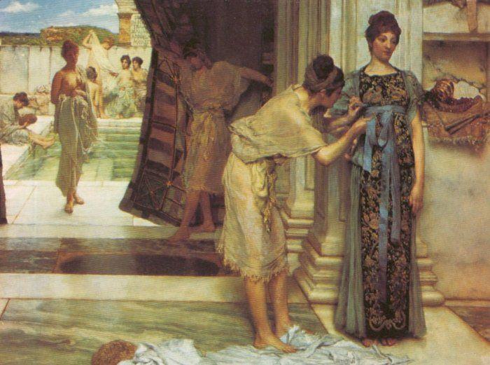 Lourens Alma Tadema - The Frigidarium