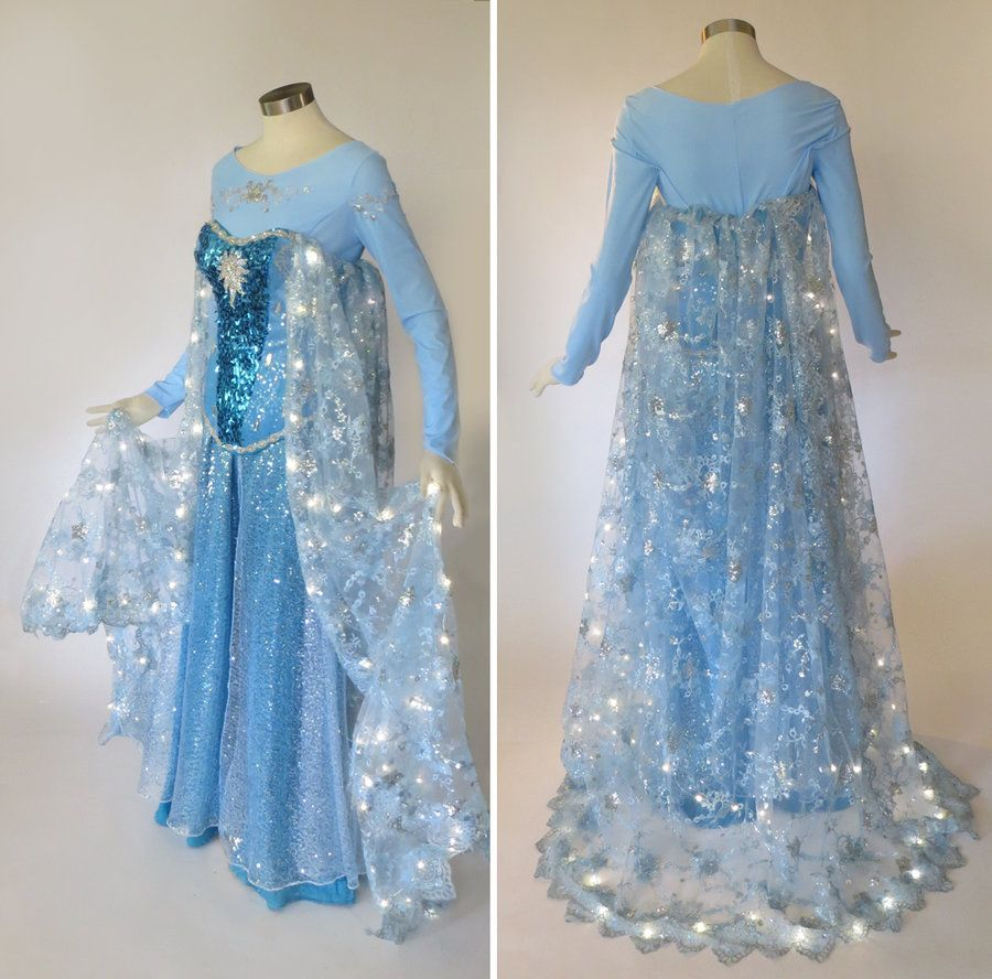 Light Up Frozen Elsa Cosplay Costume by glimmerwood on deviantART & Light Up Frozen Elsa Cosplay Costume by glimmerwood on deviantART ...