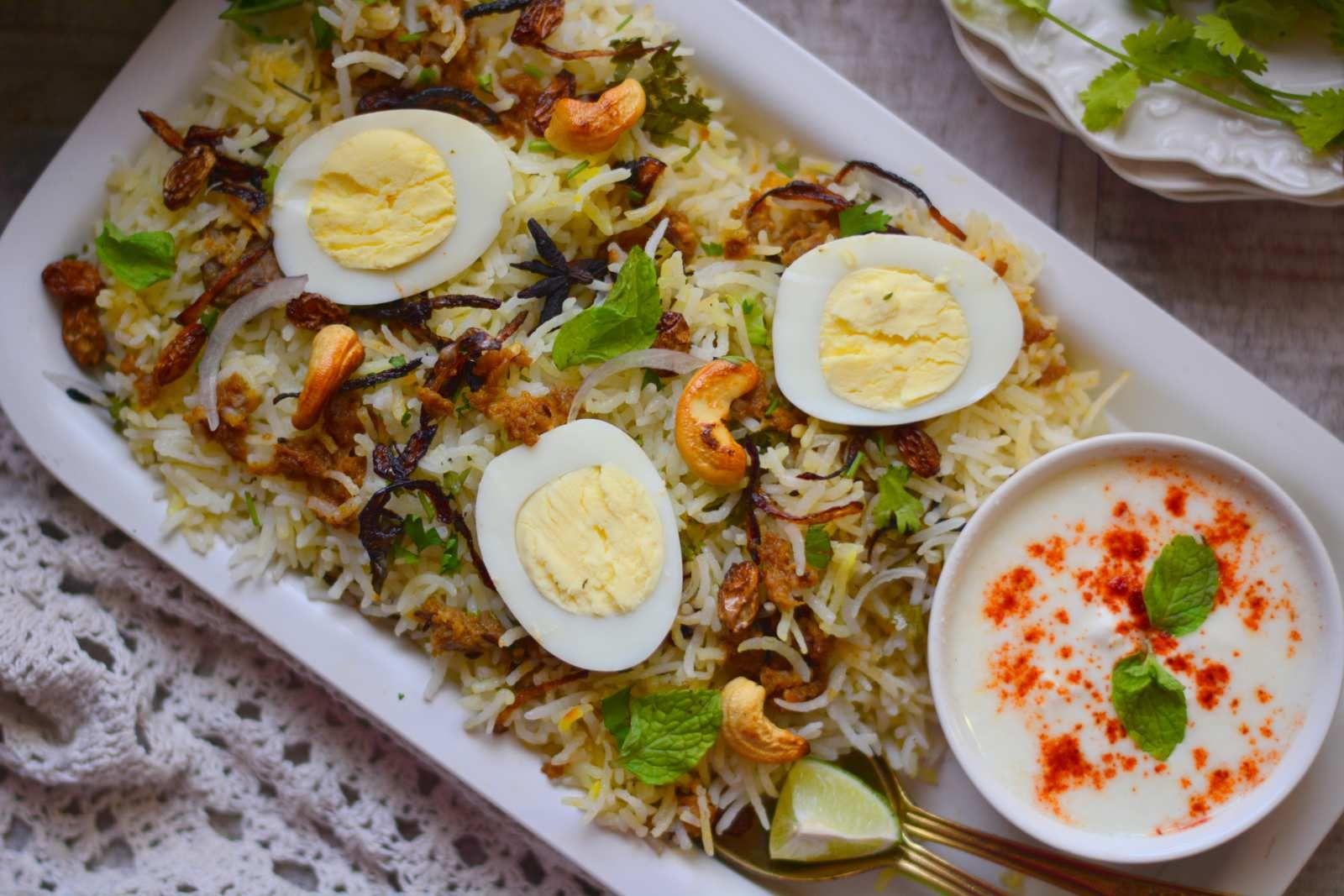Shehenshahi Parsi Keema Pulao Recipe Food Recipes Food