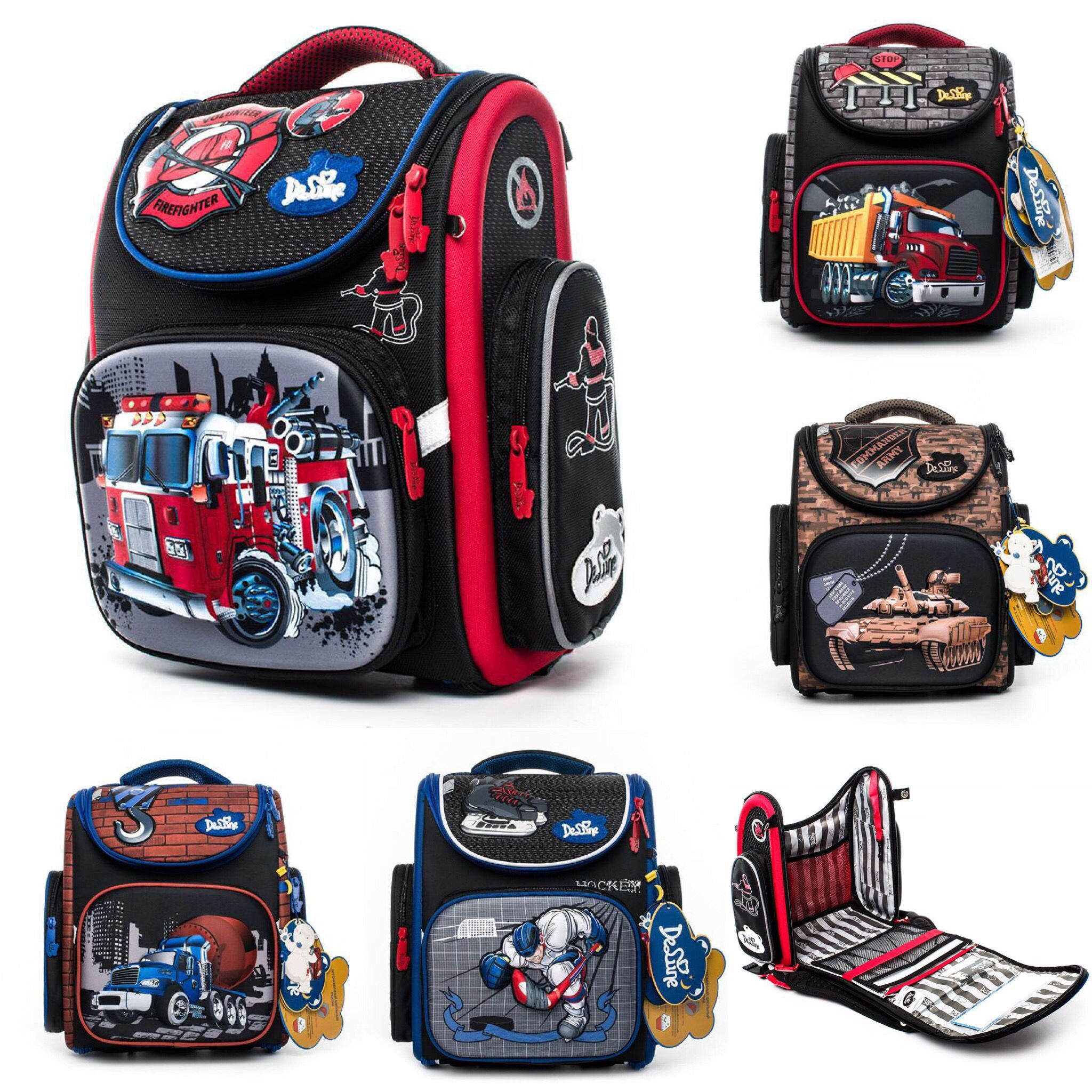 School Bags | 3D New Collection Backpack for Boys (Free