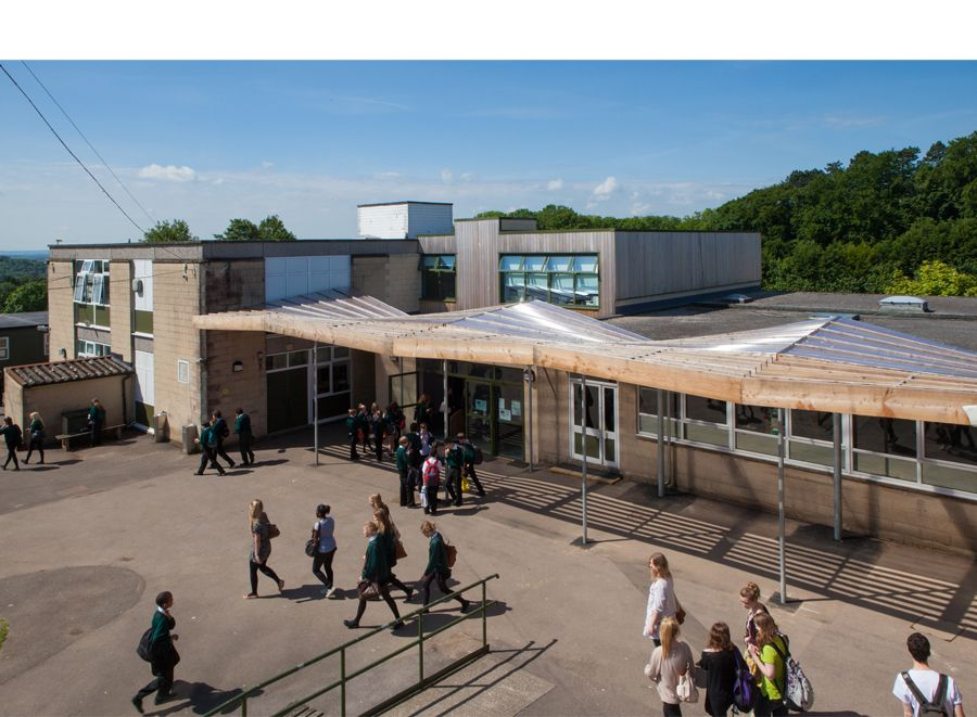 School Larch Canopy and External Classroom - Feilden Fowles Architects Architecture Design Contemporary Structure Timber Canopy Larch Outdoor Shelter School ... & School Larch Canopy and External Classroom - Feilden Fowles ...