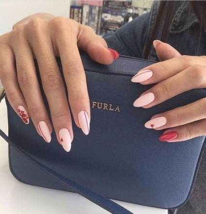 60 trendy fails design almond  almond acrylic nails