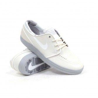 8113fed7a0cc Nike SB Lunar Stefan Janoski (Summit White White-Wolf Grey) Men s Skate  Shoes  109.99