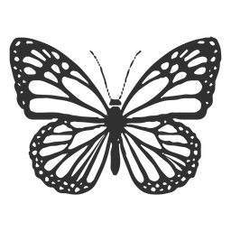 Monarch Butterfly Icon Butterfly Drawing Butterfly Coloring Page Monarch Butterflies Art
