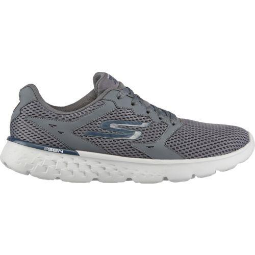 SKECHERS Men's GOrun 400 Running Shoes Grey/Navy