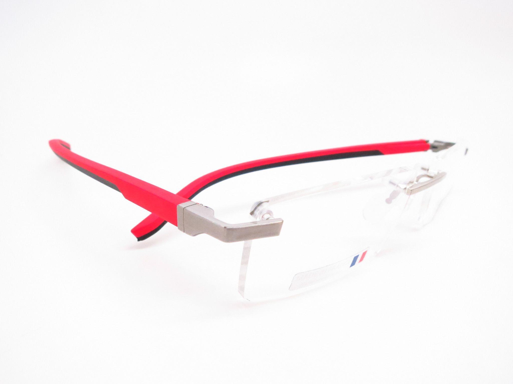 Tag Heuer TH 0841 005 Red / Black Automatic Eyeglasses   Tag Heuer ...
