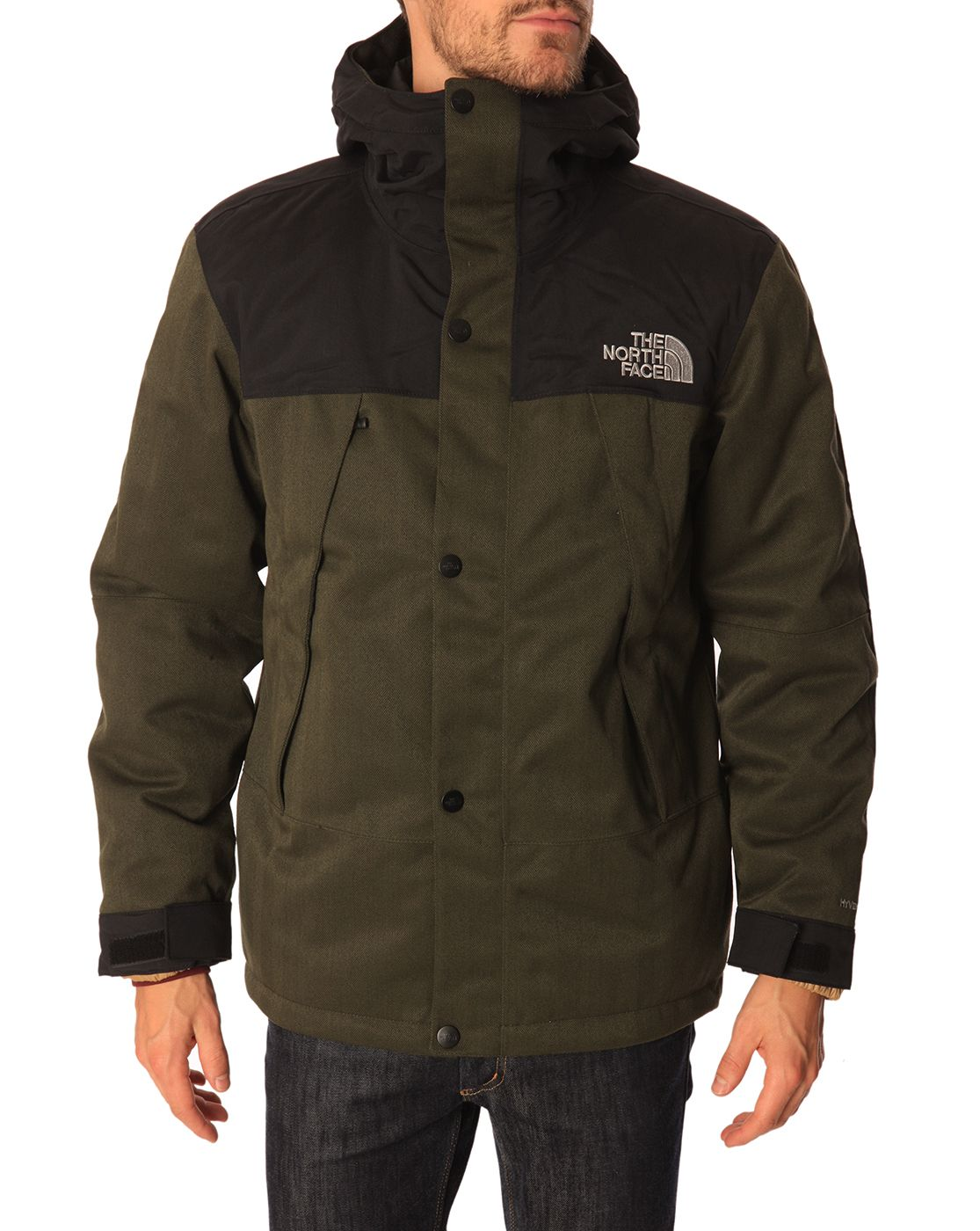 Mountain Triclimate 3 in 1 Green Parka with Removable Primaloft Lining