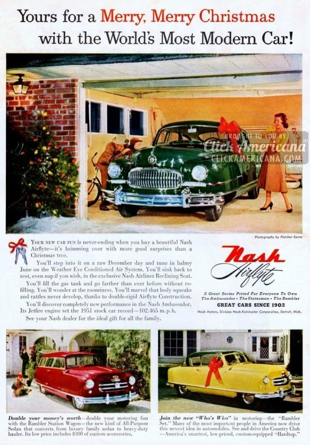 51 Nash Airflytes: The world\'s most modern car | Cars