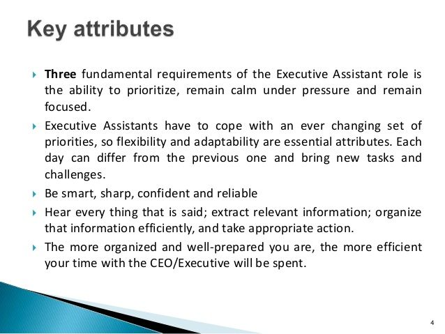 How To Become An Indispensable Executive Assistant  Executive
