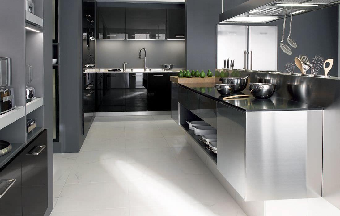 meuble inox cuisine - Recherche Google kitchen Pinterest Cuisine