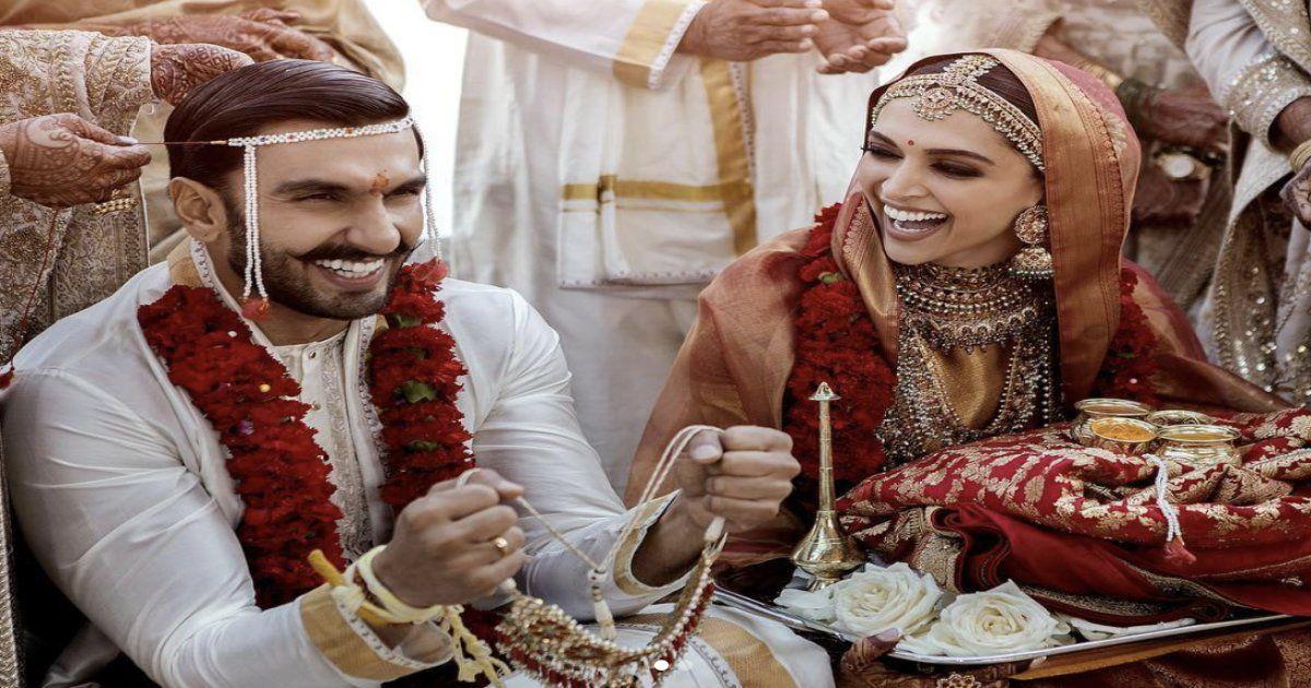 Deepika Padukone And Ranveer Singh Release Marriage Pictures Deepika Padukone Deepika Ranveer Ranveer Singh