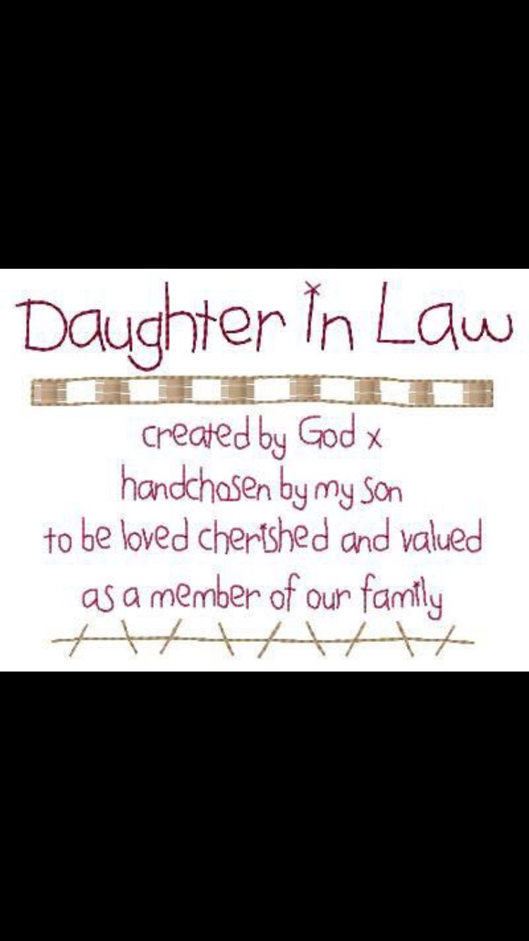 Daughter in law Family quotes, Quotes to live by, Funny