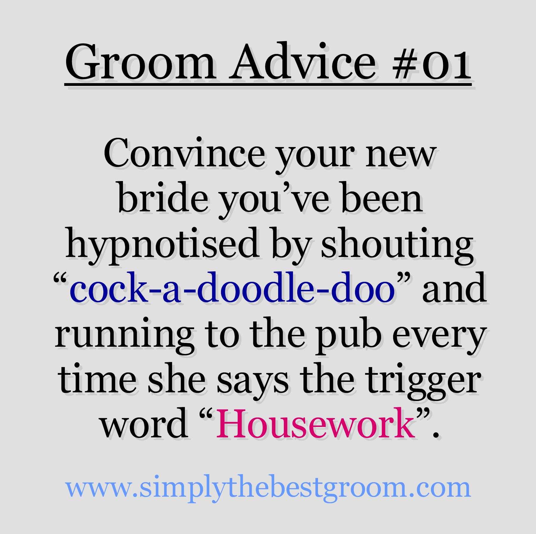 Weddings Groom Advice 01
