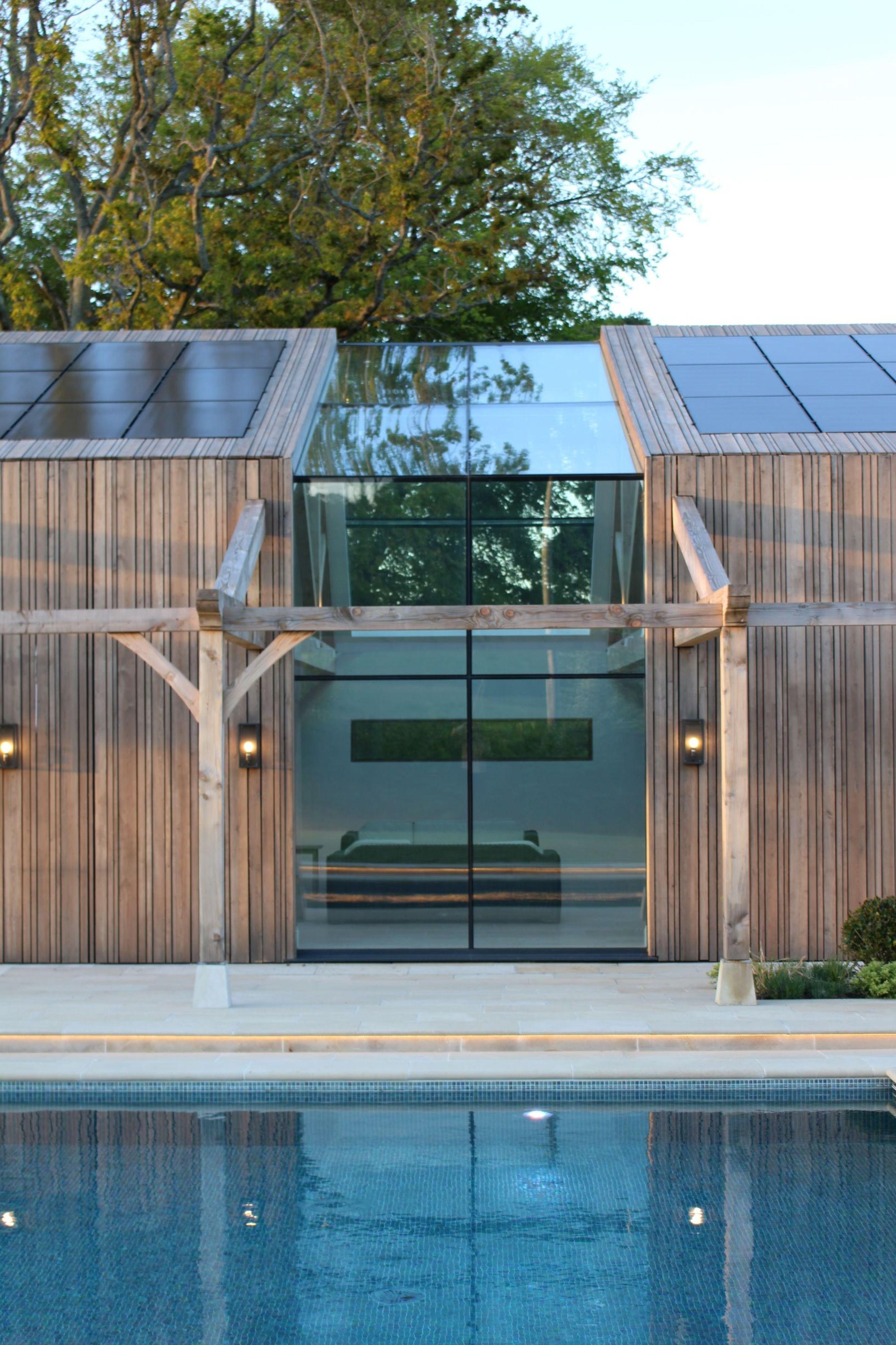 The Studio Richmond Bell Architects Solar Panels Architecture Larch Cladding Architect
