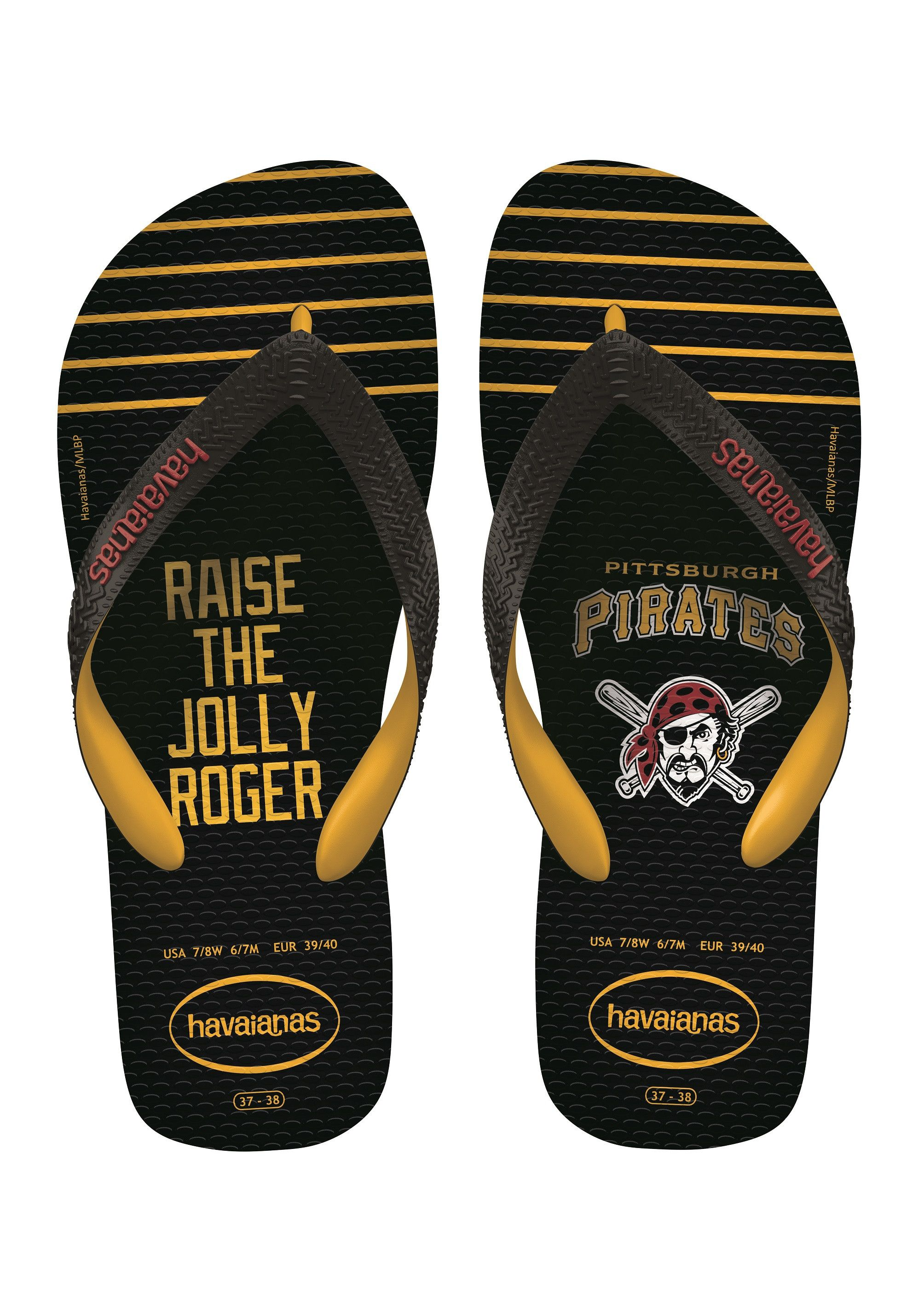 73078585a Havaianas Top Mlb Sandal Black Banana Yellow Price From  £17.88