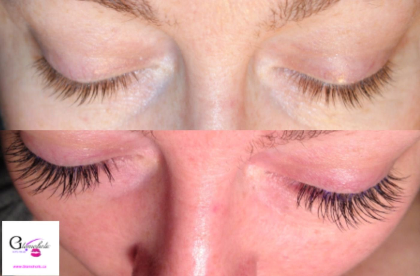 Another Client Before And After Eyelash Extensions From Certified