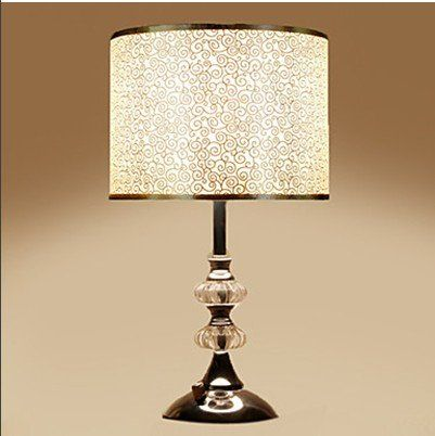 Crystal Bedside Lamp With Dimmer Switch Click Image Twice For More