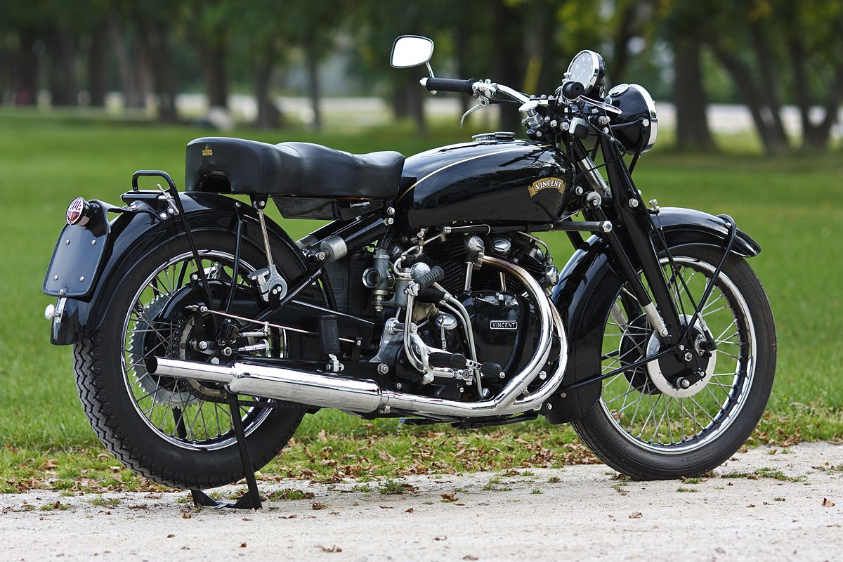 vincent black shadow | hope I was helpful with my experience regarding old motorbikes. If ...