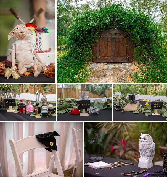 Harry Potter Inspired Wedding at Harmony Gardens - A PRINCESS ...