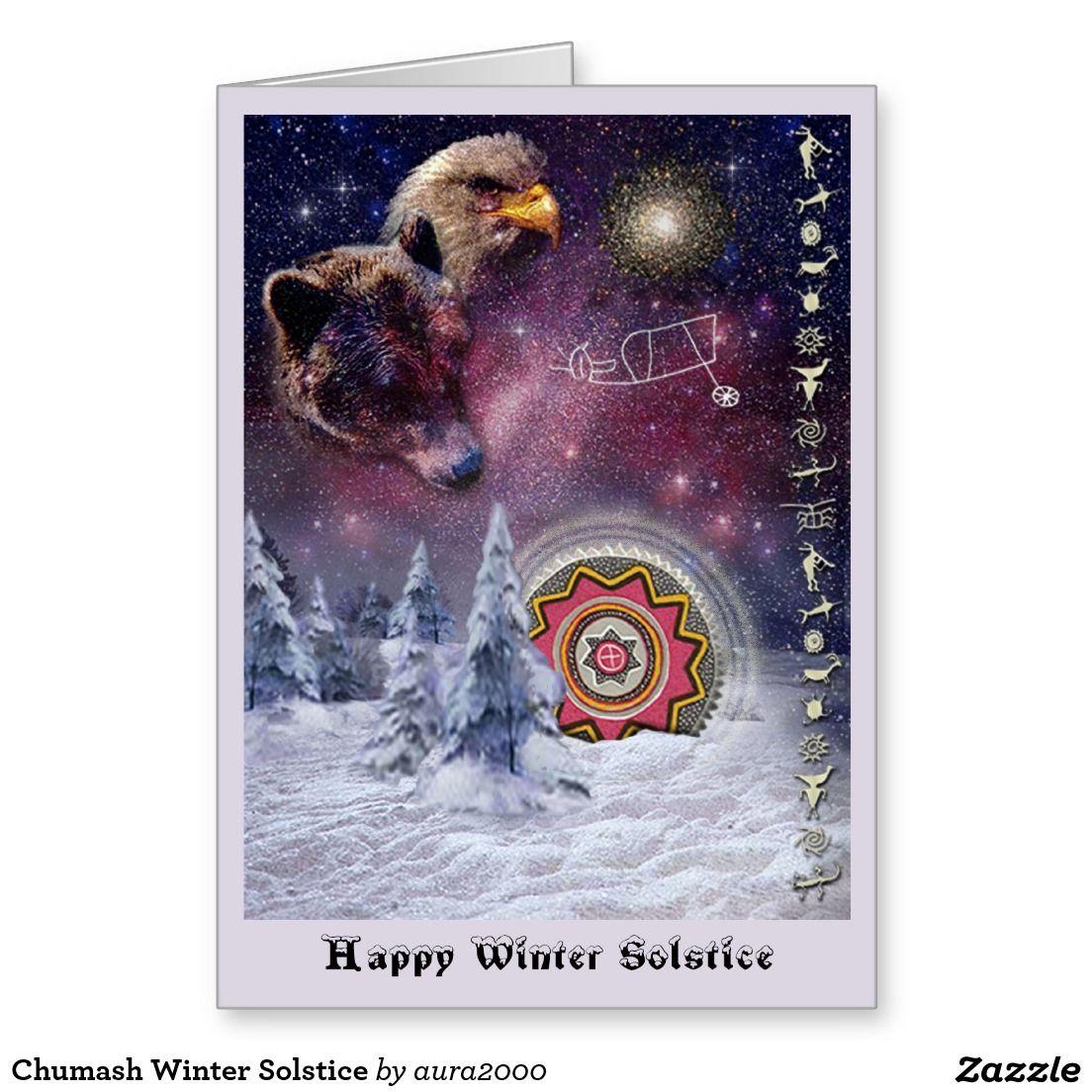 Chumash Winter Solstice Greeting Card Stuff Sold On Zazzle
