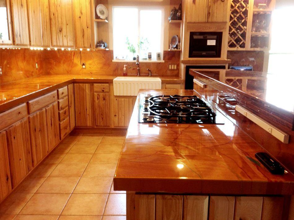 diy metallic epoxy floor | adds a professional and elegant