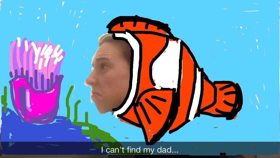 Daddy? Snapchat Art | True stuff | Pinterest