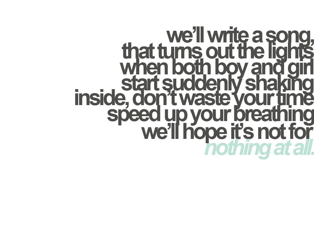 Secret Valentine  We The Kings; Possible Wedding Song U003c3