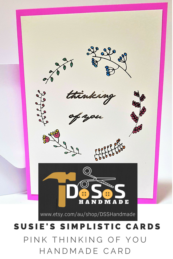 Birthday Cards Thinking Of You Etsy Simple Birthday Cards Unique Birthday Cards Unique Handmade Cards