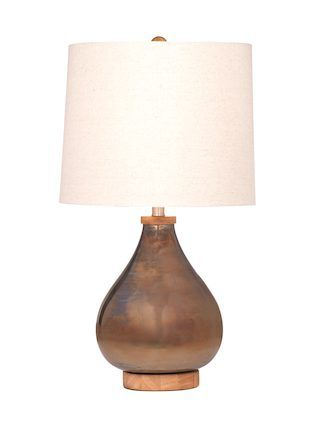 Hadley table lamp by bassett mirror at gilt