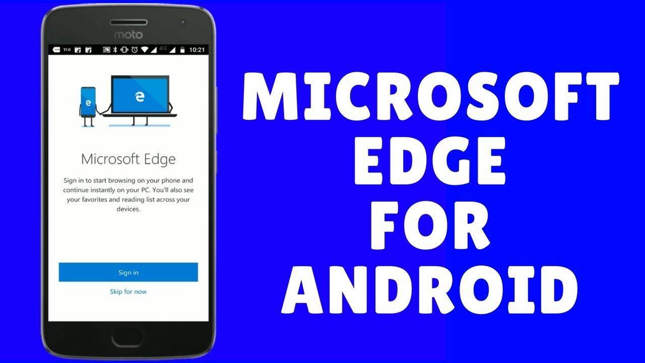Microsoft Edge For Android Initial Impressions Android