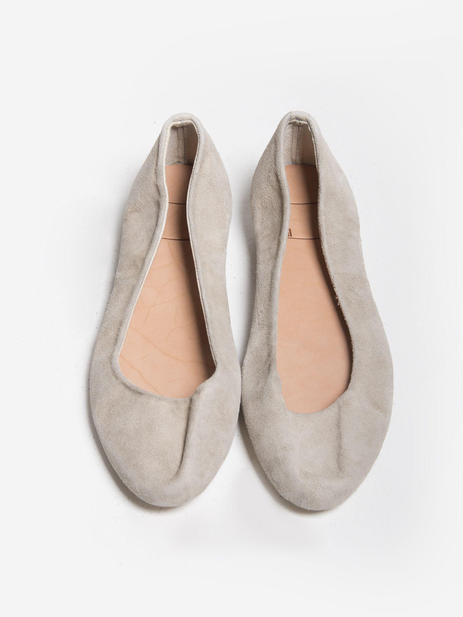 cheap for discount 1fedb 0954e GUIDI Ballerina Flats (Women) Reversed Kangaroo Leather ...