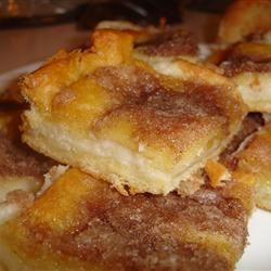 Sopapilla-Cheesecake. You can't go wrong with this dessert!