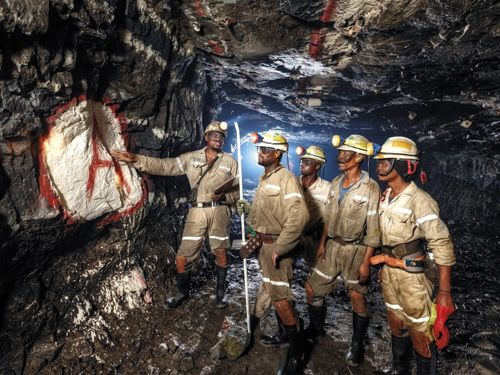 Raw Materials In South Africa Safety Training At Bathopele Platinum Mine South  Africa Anglo .