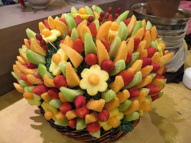 Fruit Bouquets   Wedding centerpieces, Fruit arrangements and ...