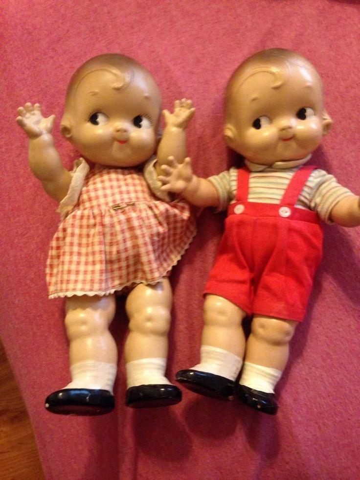 Kewpie Dolls Twin Dolls Old Dolls