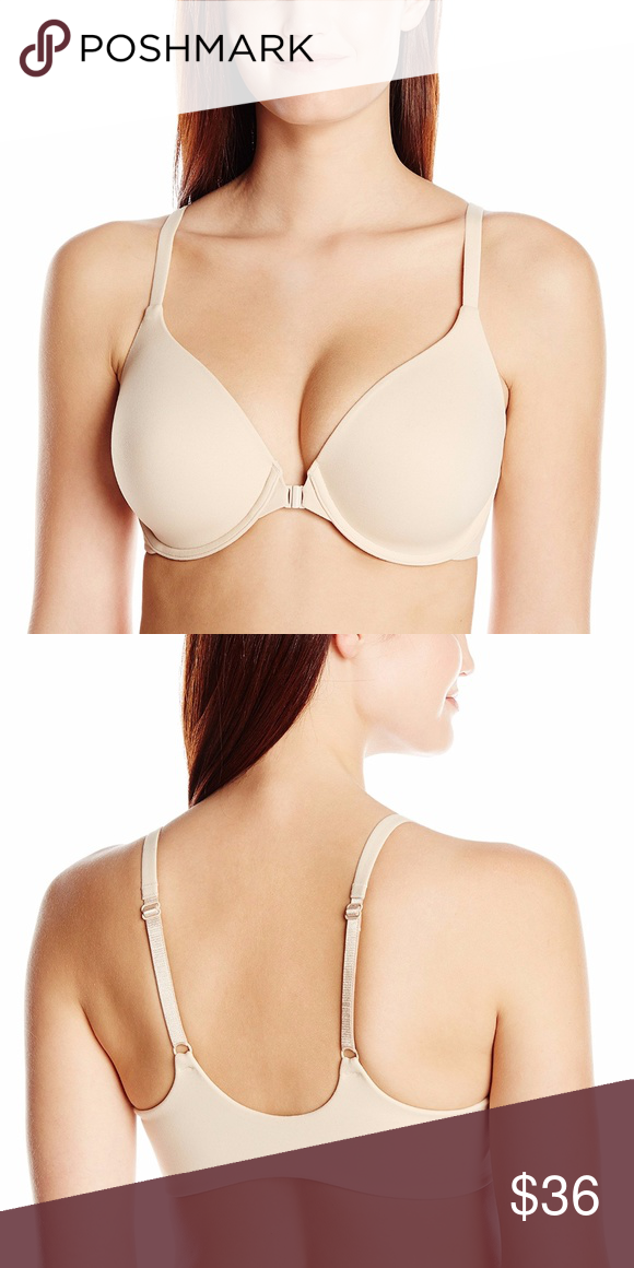 66573c3ee0 Wacoal How Perfect Front Close Contour Bra 853189 Full-coverage that s soft  and seamless.
