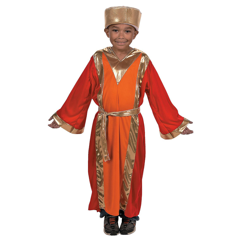 Melchior Biblical Nativity Christmas Wise Man Dress Up Halloween Child Costume