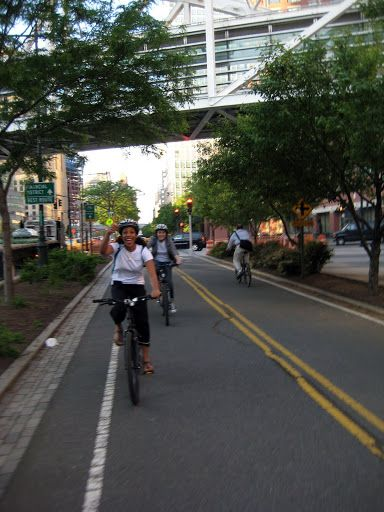 West Side Highway Bicycle Path Street View Paths Scenes