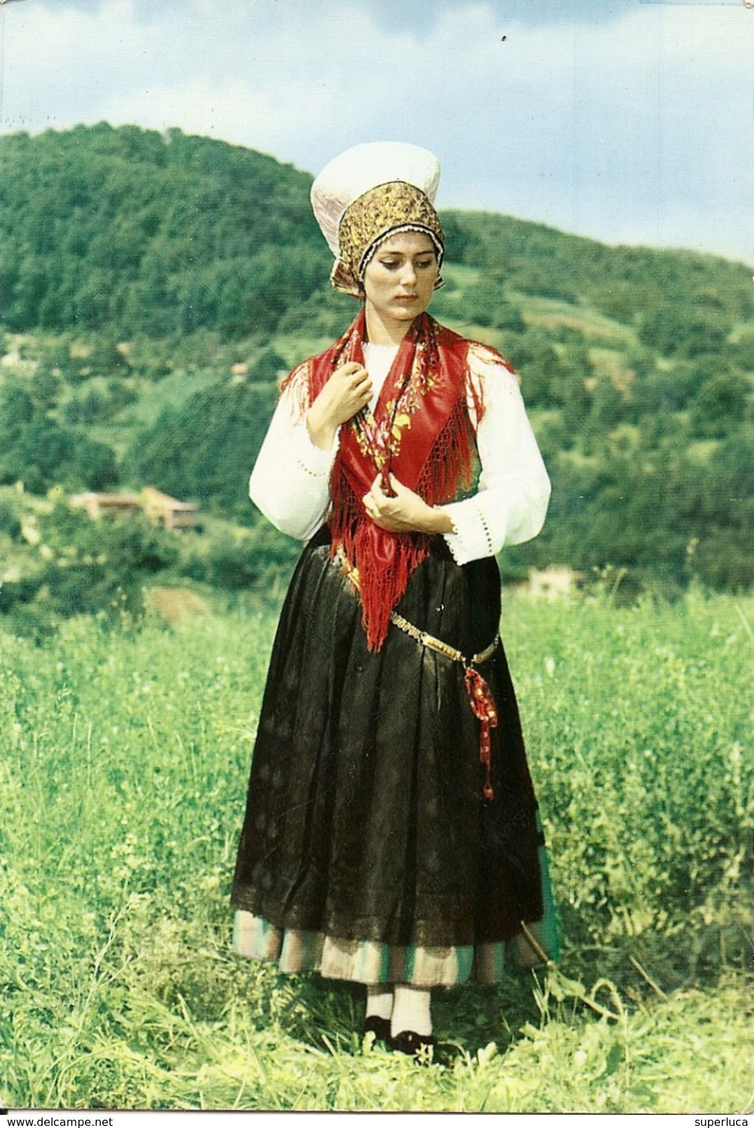 1NATIONAL COSTUME FROM THE BOHINI DISTRICTSLOVENIA